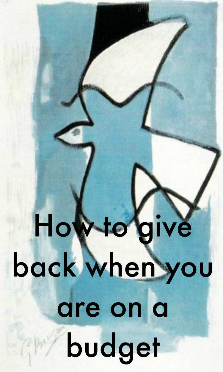 How to give back on a budget