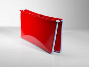 Flexi bath folded