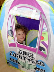 Toy Story Buzz Rocket Tent