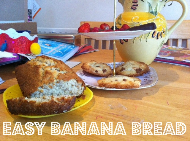 kids banana bread, Easy banana bread recipe