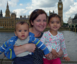 Nicola Semple, Life after maternity leave, stay at home mum