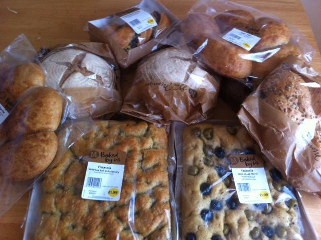 morrissons new bread range
