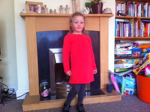 Vertbaudet girls winter dresses