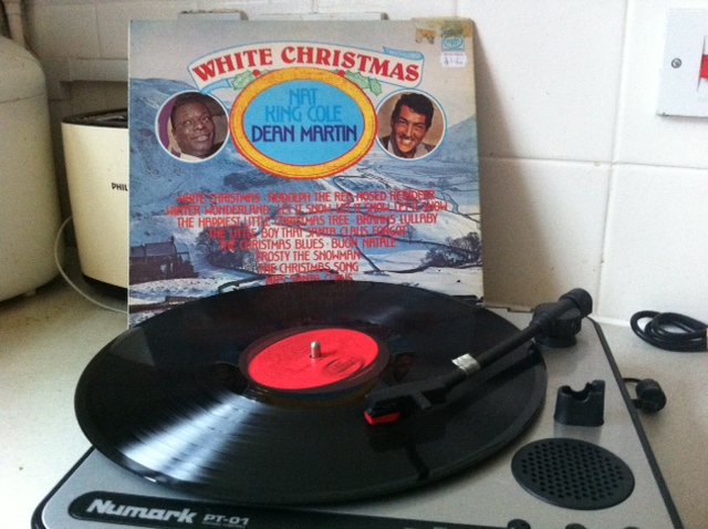 charity shop Christmas, dean martin christmas, dean martin, nat king cole