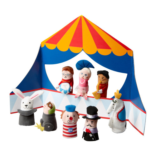 Circus puppets, cheap christmas gifts