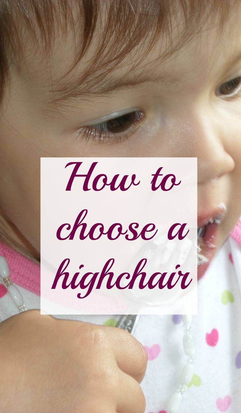 how to choose a highchair