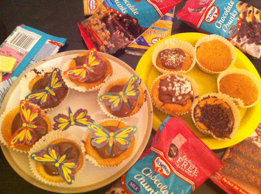Dr Oetker Cake Competition - baby budgeting