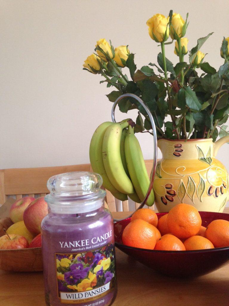yankee candles wild pansies