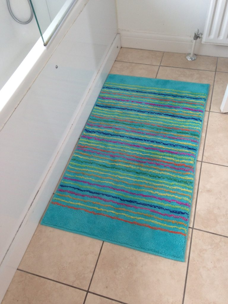 cool stripes rug, esprit rug, washable rug