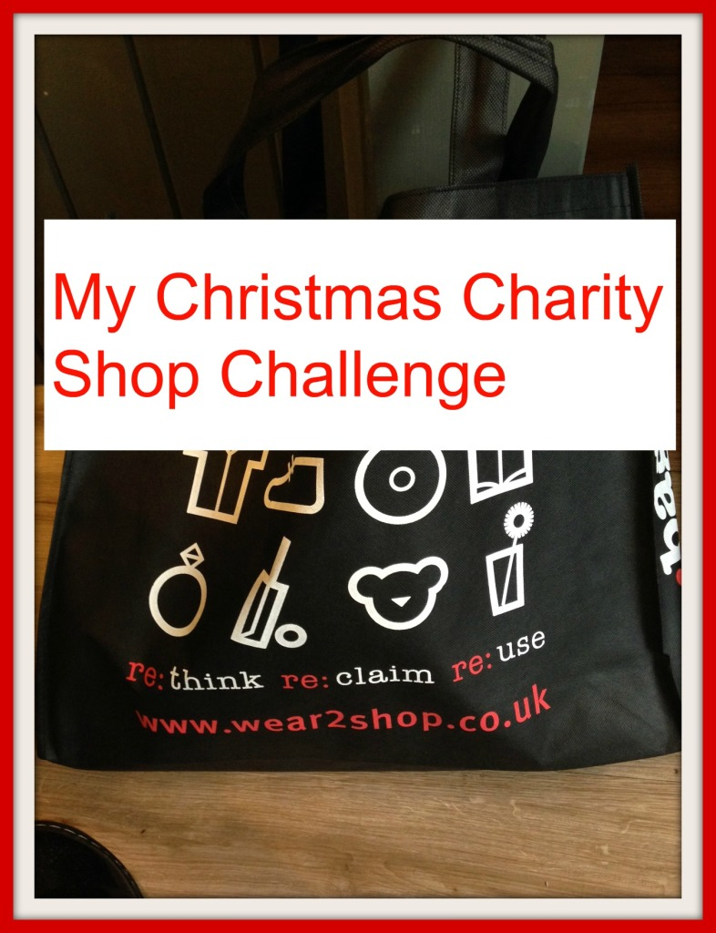 My Christmas Charity Shop Challenge