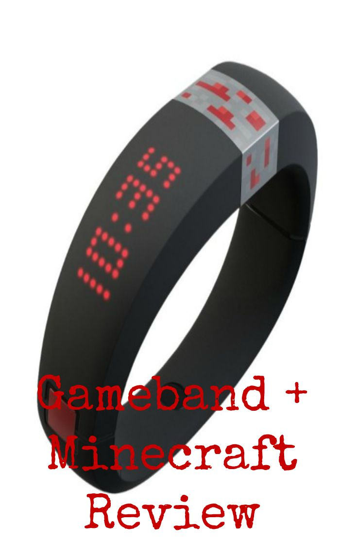 gameband + minecraft review