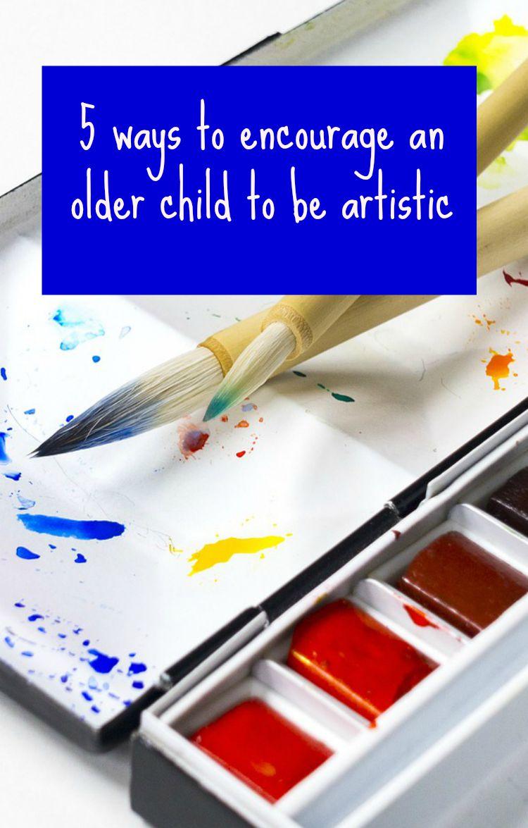 older child artist