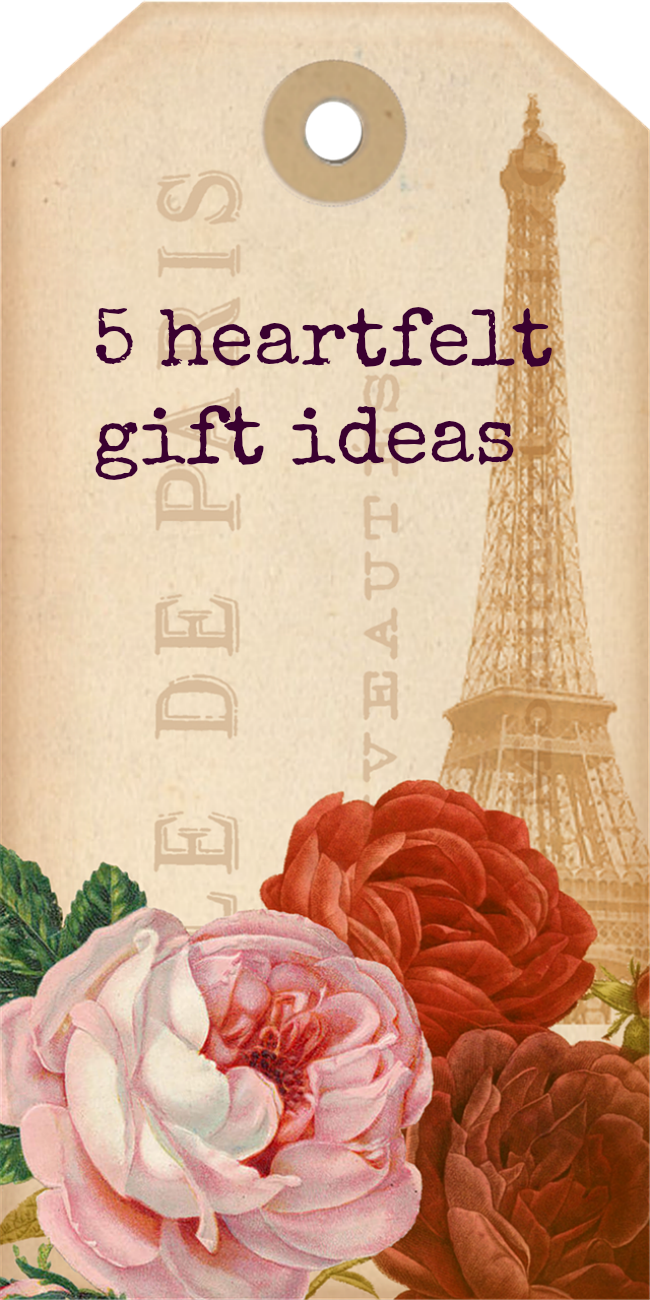 heartfelt gift ideas