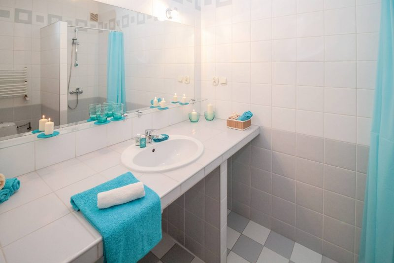 Spectacular  print on the wall can all add a real zing to a bathroom There is no need to be afraid of colour or personality A bathroom does not have to be sterile
