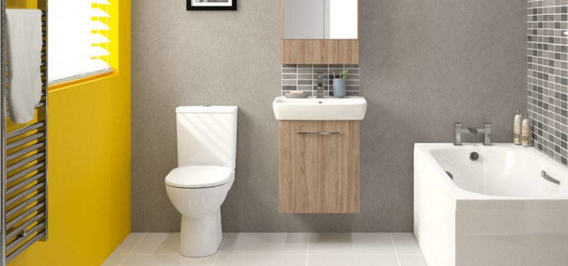 Nice beautiful bathroom on a budget